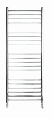 ELECTRIC 1200 X 500 ROUND TUBE STAINLESS STEEL LADDER RADIATOR