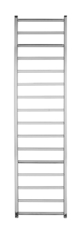 ELECTRIC 1600 X 500 SQUARE TUBE STAINLESS STEEL LADDER RADIATOR