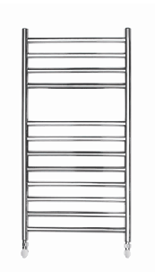 ELECTRIC 700 X 500 ROUND TUBE STAINLESS STEEL LADDER RADIATOR