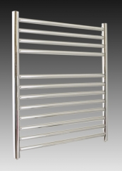 700 X 600 ROUND TUBE STAINLESS STEEL LADDER RADIATOR STRAIGHT
