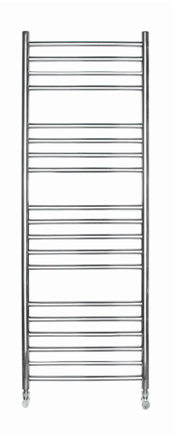 1200 X 400 ROUND TUBE STAINLESS STEEL LADDER RADIATOR STRAIGHT