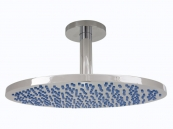 RUB CLEAN 350MM ROUND BRASS SHOWER HEAD CHROME