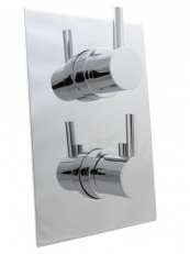 RECESSED THERMO SHOWER MIXER 1 CONTROL CHROME