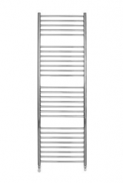 1600 X 500 ROUND TUBE STAINLESS STEEL LADDER RADIATOR STRAIGHT
