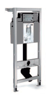 MEPA 1200 HIGH WALL HUNG WC FRAME