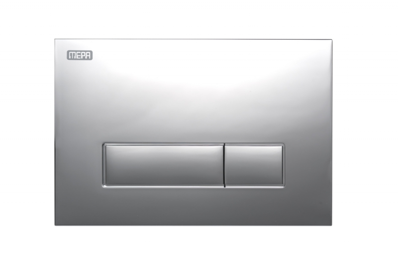 MEPAorbit DUAL FLUSH PLATE CHROME