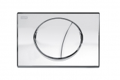 MEPAsun DUAL FLUSH PLATE CHROME