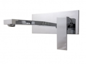 WALL MOUNTED SINGLE LEVER BASIN MIXER CHROME