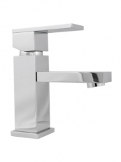 SHORT SPOUT BASIN MONO NO PUW CHROME