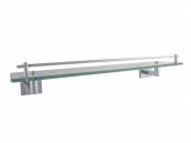 GLASS SHELF 52CM CHROME