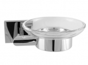 SOAP DISH CHROME